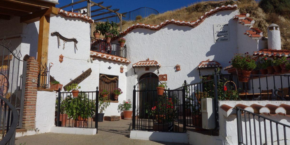 Die Höhlen von Guadix