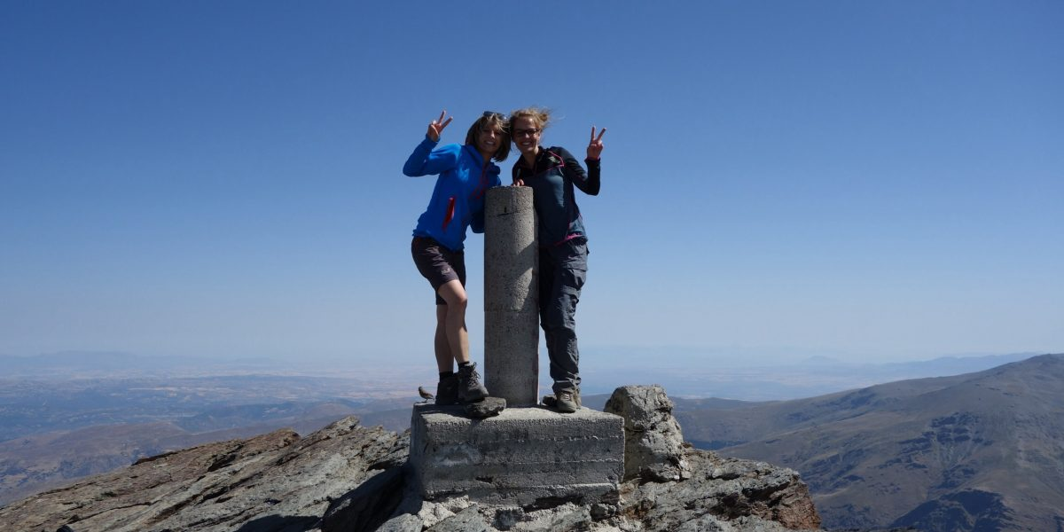 Gipfelsturm in der Sierra Nevada