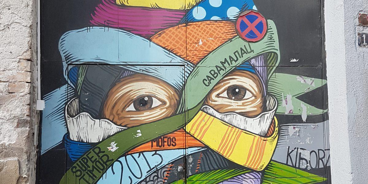 Von Kunst und Liebe in Belgrad.