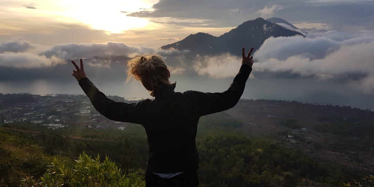 Der Weg ist das Ziel. Die Besteigung des Mount Batur.