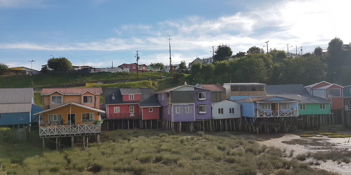 Inseltempo auf der Isla Chiloe.